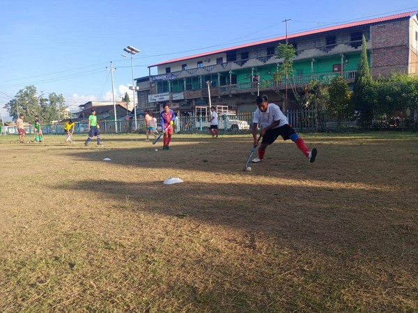 Hockey players resume sports activities in Assam and Manipur