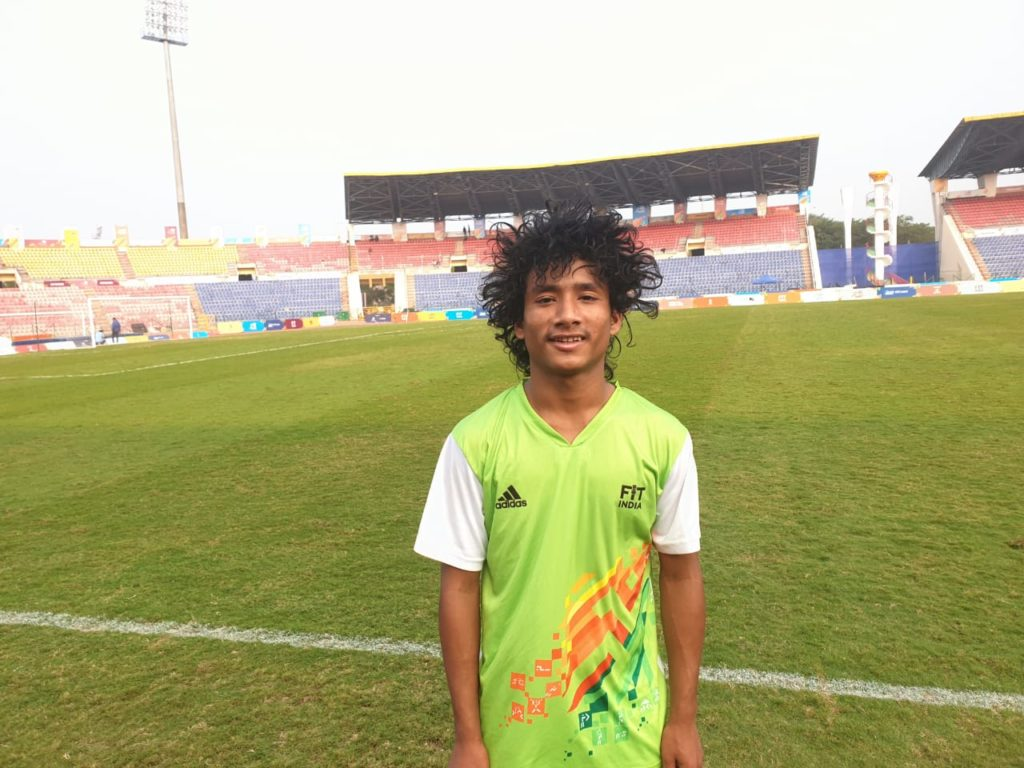 Will aim to become Khelo India Youth Games champions, says Assam footballer Uday Sankar Bora