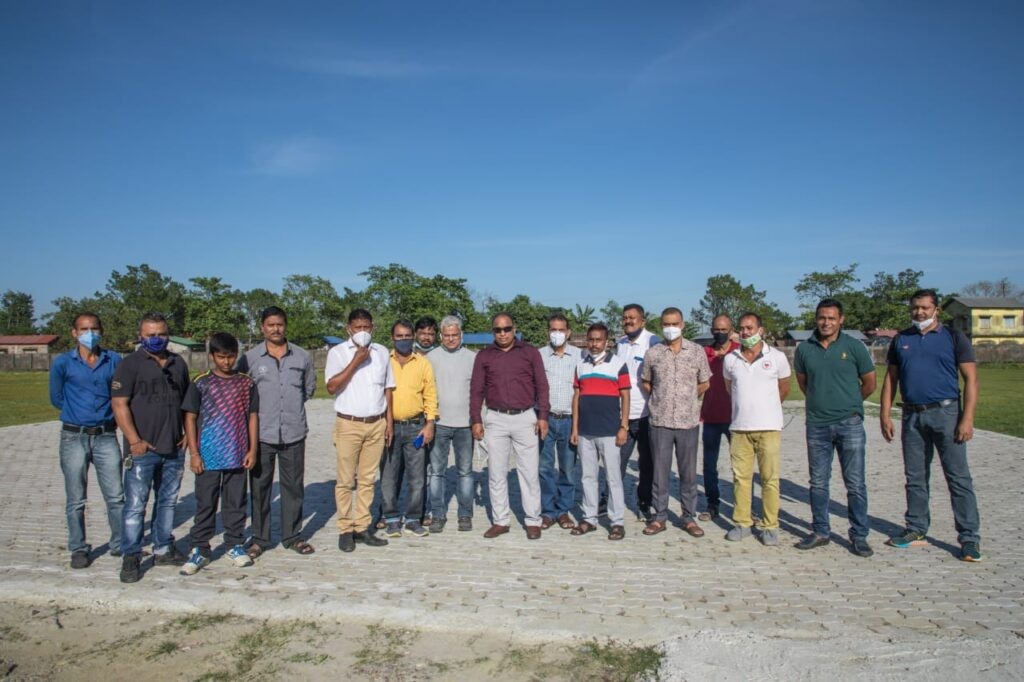 Concrete helipad on Cricket pitches in Dhubri; ACA to take the matter up with CM