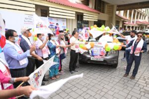 Go For Gold Lovlina: The Byatikram Group Wishes Luck To Lovlina With A Car Rally